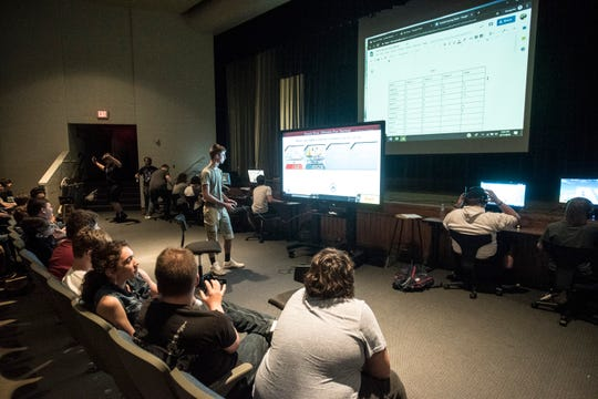 Almost 50 students from Chillicothe and Zane Trace participated in the first esports tournament in the area at Chillicothe Middle School on June 11, 2019.