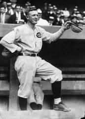 Christy Mathewson, the former New York Giants pitching great managed the Reds from 1916-1918.
