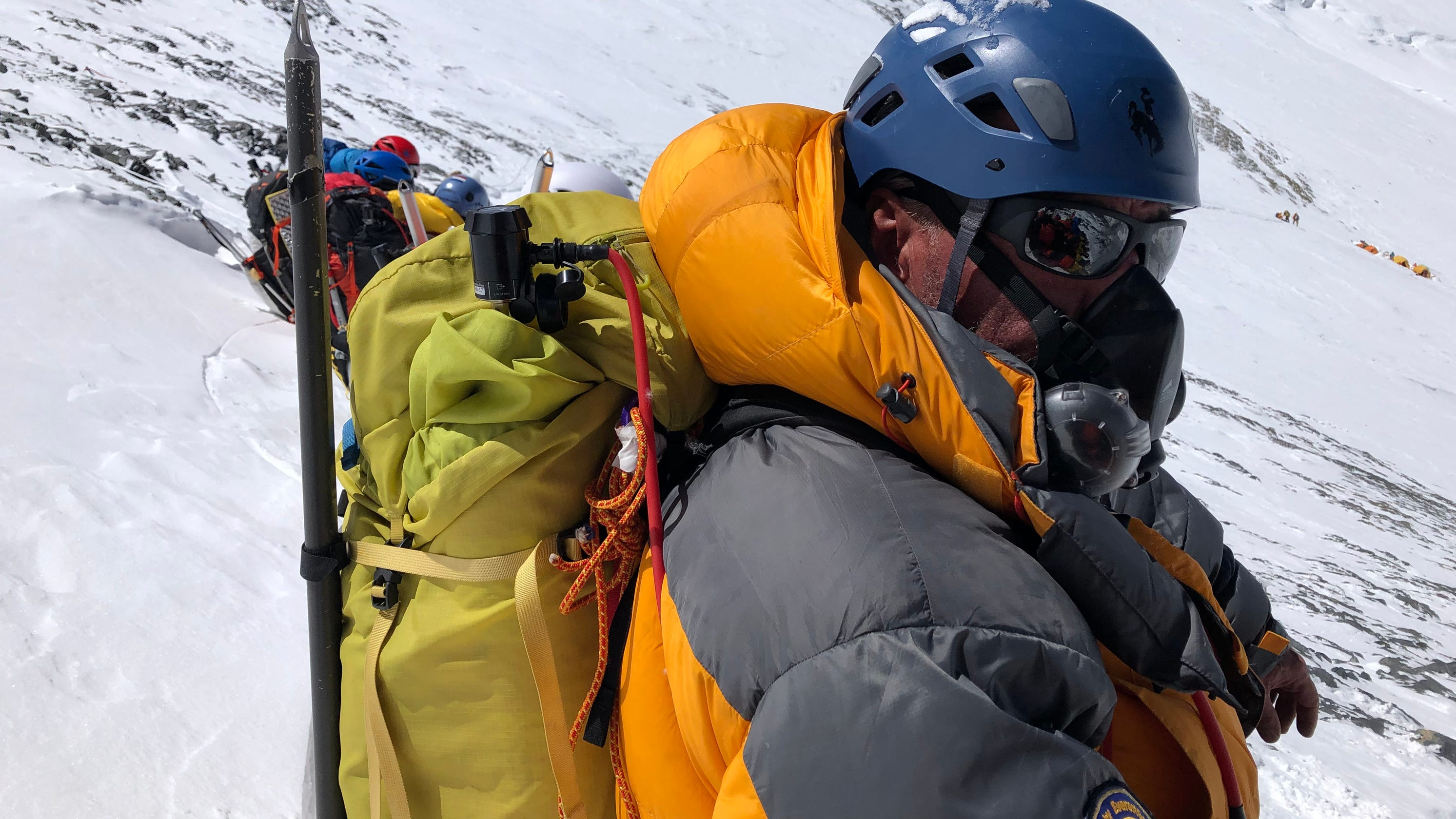 Mount Everest summit was within sight, so why did this Ohio man stop?