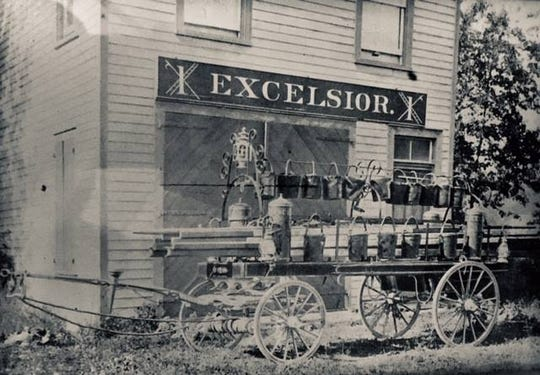 The Scotch Plains Fire Department was founded as the Excelsior Hook and Ladder Company in 1869.