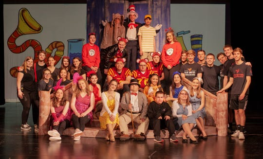 Voorhees High School cast of Seussical Jr.