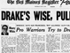 This story ran in a 1969 Des Moines Register sports cover detailing the the-San Francisco Warriors' attempt to pick Iowa girls' basketball legend Denise Long in the NBA Draft.