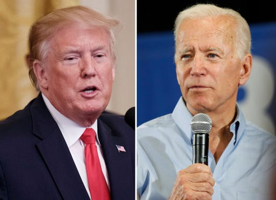A new poll from EPIC-MRA shows former Vice President Joe Biden leading President Donald Trump by 12 percentage points in Michigan. That is up 6 points since January.