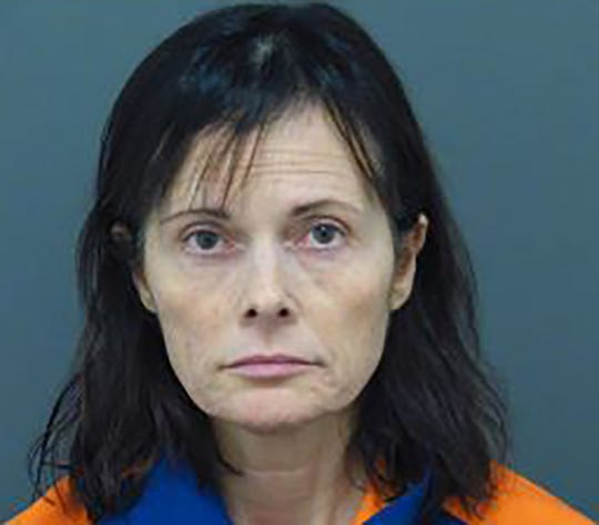 Tina Talbot as seen in her Michigan Department of Corrections booking mugshot.