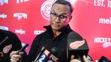 Red Wings General Manager Steve Yzerman met with members of the media to answer questions about the upcoming draft and his first weeks on the job.