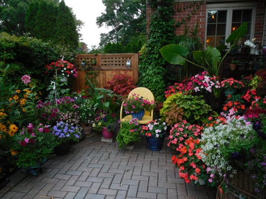 """Vacationing Plants"" by Cathy Dueweke of Grosse Pointe Farms was the grand prize winner of the 2018 Homestyle Garden Photo Contest."