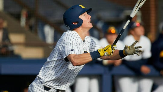 Jimmy Kerr says that his grandfather is the best of the Kerrs that played baseball at Michigan.