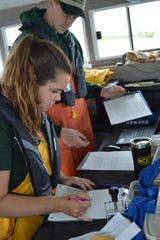 The DNR's fisheries research stations and their vessels are evaluating specific habitats, sampling and determining why fish populations act as they do, and obtaining information for managers to determine future actions.