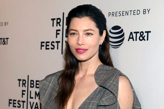 "In this April 25, 2017 file photo, Jessica Biel attends the screening of ""The Sinner,"" during the 2017 Tribeca Film Festival, in New York. Biel says she's not opposed to vaccinations, but she does not support a bill in California that would limit medical exemptions. The actress has drawn criticism after appearing this week in Sacramento with vaccination skeptic Robert F. Kennedy Jr. to voice concerns about the measure."