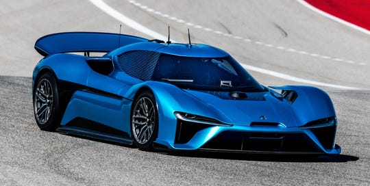 """Chinese electric car manufacturer Nio calls their EP9 electric supercar the """"world's fastest electric car."""""""