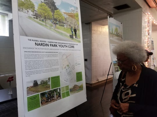 Nrena Hunt with the Nardin Park Improvement Rock community organization said she hopes the city's plan bring vitality to her neighborhood.