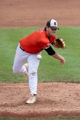 Portage Northern's Cam French allowed three hits, no walks and struck out six in the victory over Birmingham Brother Rice.