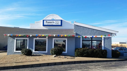Franco's Tavola Calda is located on Green River Road just south of Eastland Mall.