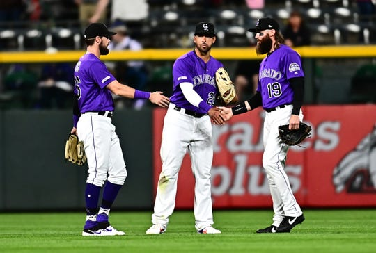 The Colorado Rockies host San Diego at 6:40 p.m. Friday.