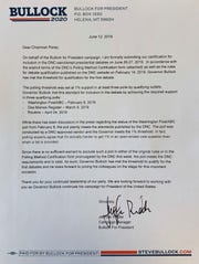 This is a copy of the letter the Bullock for President campaign sent to the DNC.