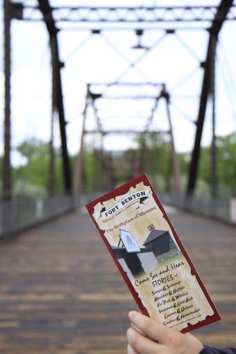 Fort Benton walking bridge