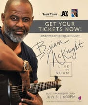 Brian McKnight coming to Guam on July 5, 2019