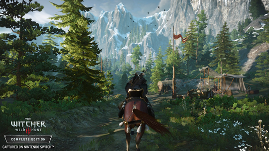 """Four years after its initial release, """"The Witcher 3: Wild Hunt - Complete Edition"""" arrives on the Switch later this year."""