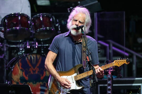 Bob Weir performs with Dead & Company at Ruoff Home Mortgage Music Center in Noblesville, Ind., Wednesday, June 12, 2019.