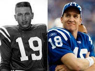 100 greatest Colts of all-time: Who's No. 1, Johnny Unitas or Peyton Manning?