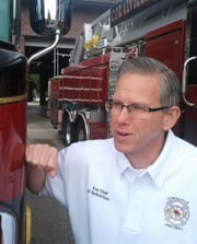 Coralville's current fire chief is Orey Schwitzer, a 24-year veteran of the local department. Starting with a non-motorized hose truck and 12 volunteers 90 years ago, Coralville today has two modern fire stations housing 13 vehicles, manned by nearly 40 paid and volunteer members.