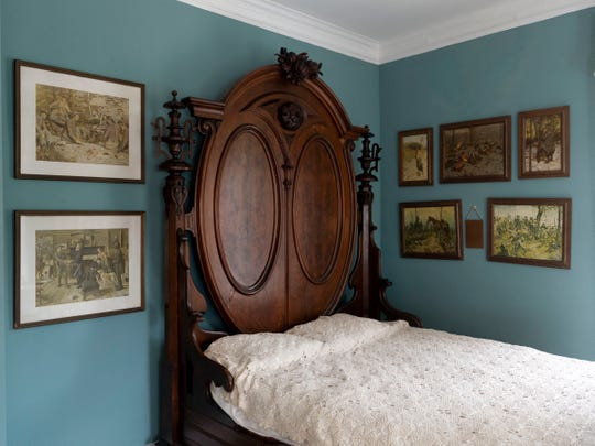A bedroom at Bleak House on Wednesday, June 12, 2019.