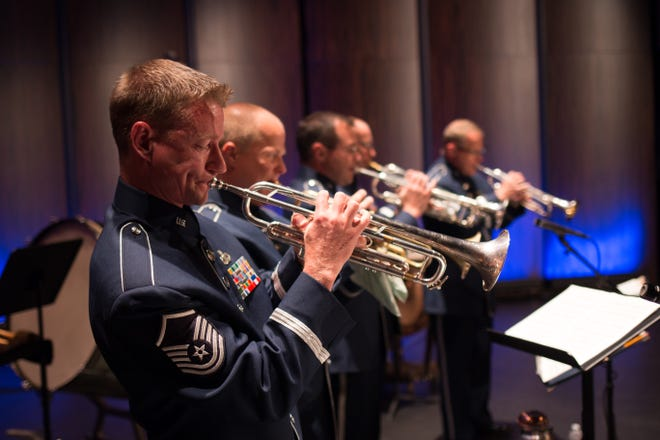 The Air National Guard Band of the South will perform at the Hunter Amphitheater at Community Maritime Park on Sunday, June 27.