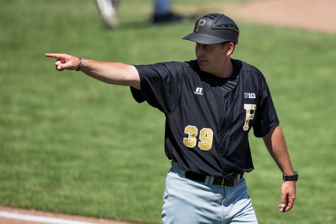 Purdue baseball promoted volunteer assistant Greg Goff to head coach on June 13, 2019.