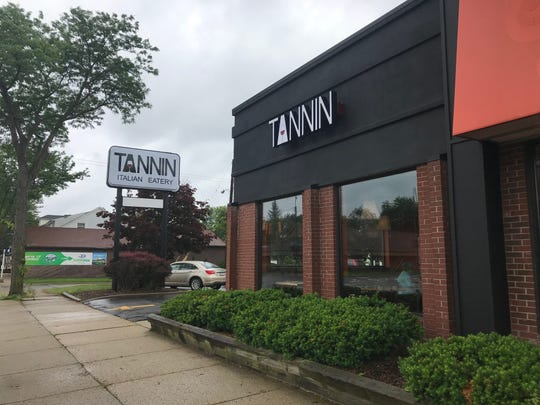 The exterior of the new Tannin location along Michigan Avenue in Lansing.