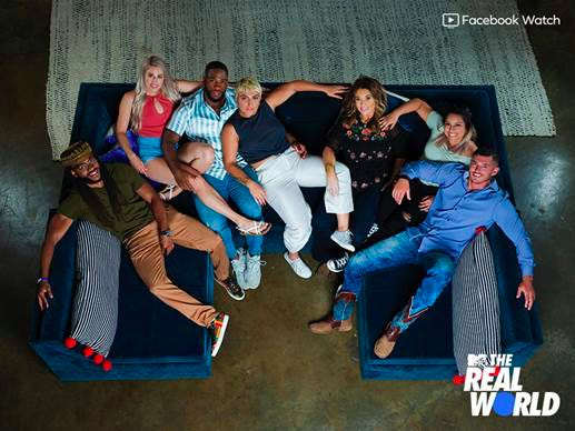 "This season's cast of ""The Real World"" includes a cast member from Potterville, Michigan. The MTV reality show is broadcast on Facebook and set in Atlanta."