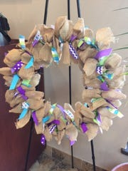 The Memorial Drive Vet Clinic, 1415 Memorial Drive, Manitowoc, is selling burlap wreaths to raise funds for its Relay For Life team.