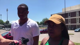 Quintasia Turner, a friend of Brandon Webber, reacts to Wednesday's shooting.