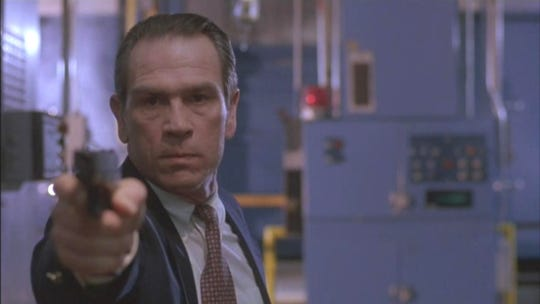 "Tommy Lee Jones earned an Oscar for his role in ""The Fugitive,"" which screens Friday night at the Orpheum."