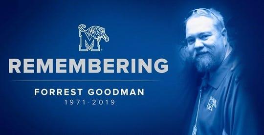 Former Tigers radio host Forrest Goodman's funeral will be held on June 15 at Barlett Baptist Church