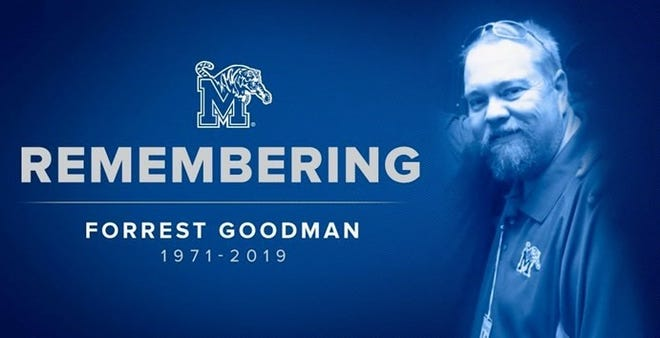 Former Tigers radio host Forrest Goodman's funeral will be held on June 15 at Barlett Baptist Church