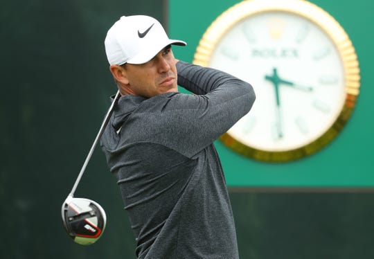Brooks Koepka is shooting for his third-straight U.S. Open title this weekend at Pebble Beach.