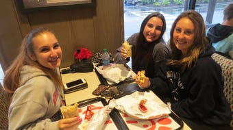 Nearly 500 people showed up by 5 a.m. - some arriving the night before - for the grand opening of Morris County's first Chick-fil-A. June 13, 2019