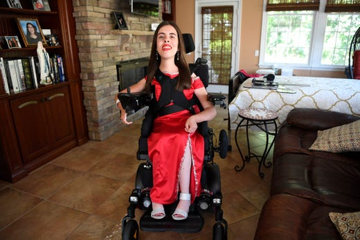 East Hanover Girl To Rock Adaptive Prom Dress In Her