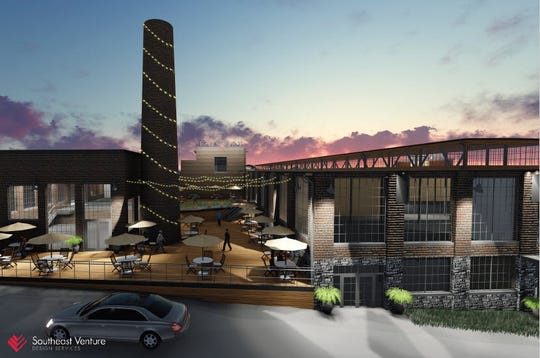 A rendering of the L&L Marketplace opening soon on Charlotte Avenue.