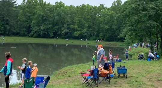 Children 15 and under were invited to participate in the 2019 Fairview Youth Fishing Rodeo June 8, 2019.