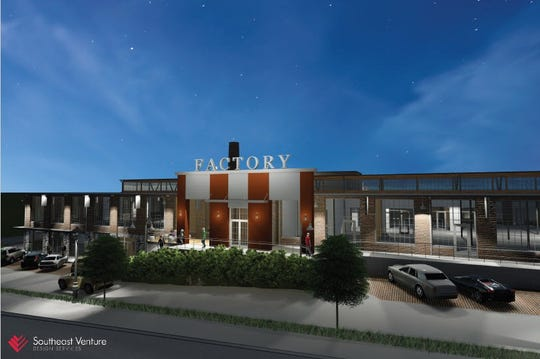 A rendering of the L&L Marketplace opening in July on Charlotte Avenue.