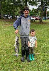 A big catch at the 2019 Fairview Youth Fishing Rodeo June 8, 2019.