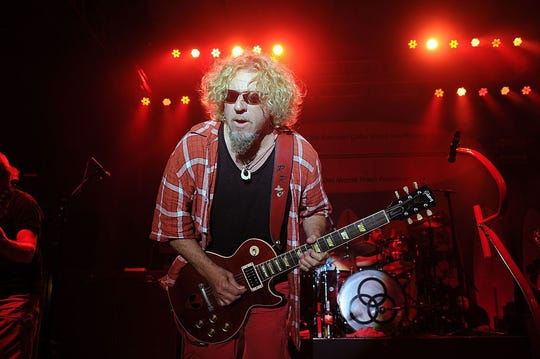 Sammy Hagar performs in 2014 in Miami Beach, Florida. The Red Rocker and his band, The Circle, will perform in early November 2019 in Florida.