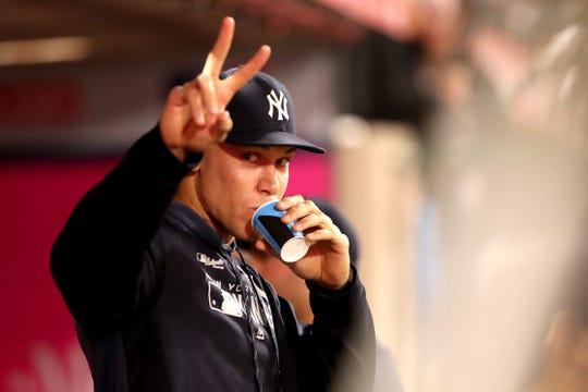 "Giancarlo Stanton (calf/knee) will transfer his rehab assignment to Class AAA Scranton/Wilkes-Barre on Friday and there's ""a chance'' that Aaron Judge, above, might join him there this weekend, according to Yankees manager Aaron Boone."
