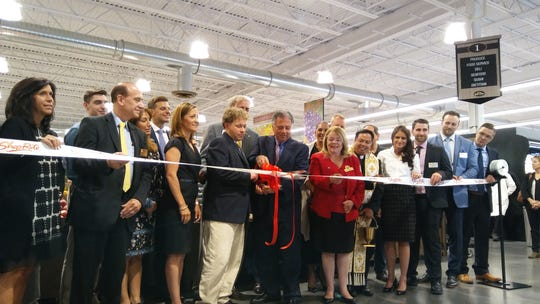 Representatives from Inserra Supermarkets and local officials were on hand for the ribbon cutting for the new ShopRite in New Milford on June 12.
