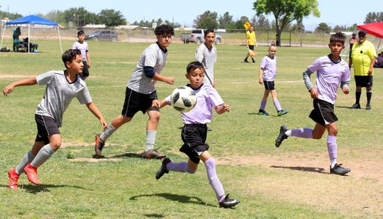 The Deming Youth Soccer League concluded a highly successful 2019 spring season with a rousing day of championship play at the DYSL fields located at the entrance to Raymond Reed Blvd. Registration for the 2019 fall season is now underway.