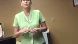 Mobile phone video captures reporter Jason Watkins being ejected from Sunshine Haven nursing home while Lt. Gov. Howie Morales was visiting.