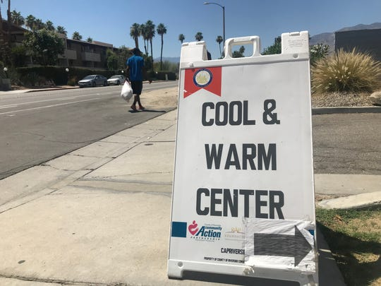 The Well in the Desert is open during daytime hours as a cooling shelter. The new cooling shelters will be open overnight.