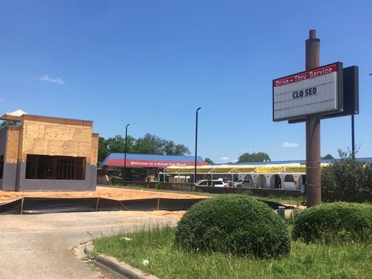 A Popeye's Louisiana Kitchen will move into this property at 6401 N. Ninth Ave., which was most recently an Arby's.