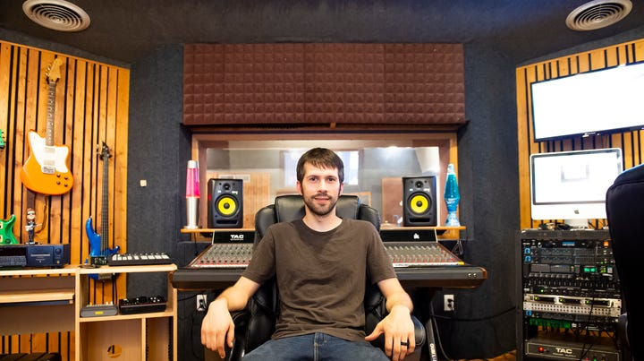 Hanover music scene attracts recording business to downtown studio location